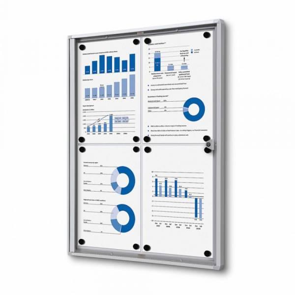 Indoor Lockable Economy Noticeboard