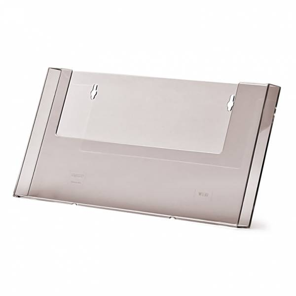 A4 Landscape Wall Brochure Holder
